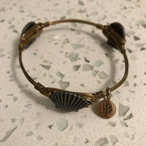 Seashell bangle